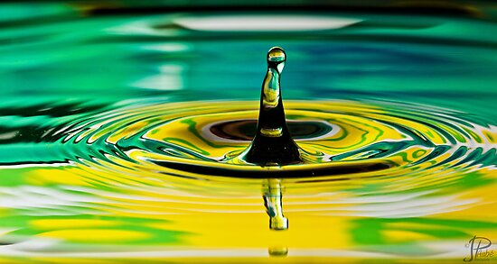 Water Droplet by JPAube