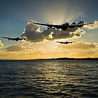 Flight Artworks aviation scenes: Dambusters by Gary Eason