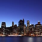 New york by night by PASLIER Morgan