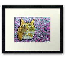 355 - SMUG MITCH - DAVE EDWARDS - COLOURED PENCILS & INK - 2012 Framed Print