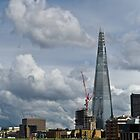 London Shard portrait by Gary Eason + Flight Artworks