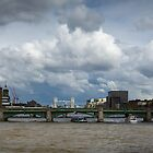 Thames view with Shard by Gary Eason + Flight Artworks
