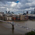 St Paul's and the City of London panorama by Gary Eason