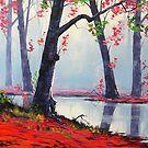 Misty Autumn by Graham Gercken