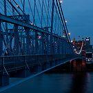 Blue in Cincinnati by Jeanne Sheridan