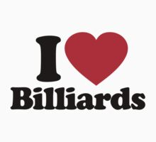 I Love Billiards by iheart