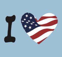I love America by Andreas  Berheide
