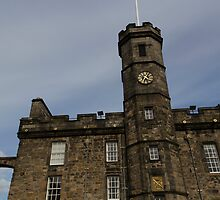 Clocktower inside the Edinburgh Castle by ashishagarwal74