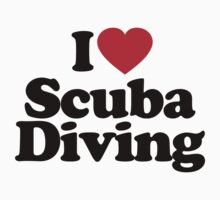 I Love Scuba Diving by iheart