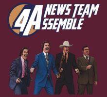 Anchorman - News Team Assemble by TwistedBiscuit