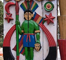 Decoration on wooden door in Lansdowne by ashishagarwal74