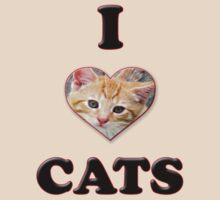 I love Cats by tappers24