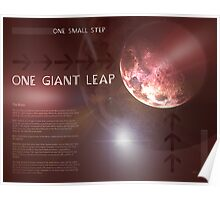 One Giant Leap Poster