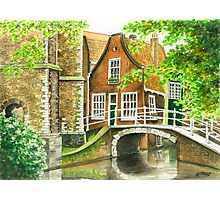 DELFT IN THE NETHERLANDS Photographic Print