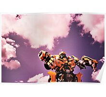 robots in the skies Poster