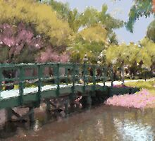 Painted Bridge by Rosalie Scanlon
