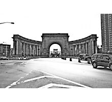 An arched door Photographic Print