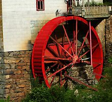 Old Red Mill by ThinkPics