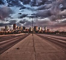 Moody Sunset, Denver by Adam Northam
