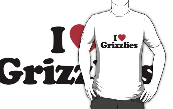 I Love Grizzlies by iheart
