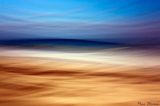 At The Beach by Pene Stevens