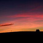Dorset Sunset by William Rottenburg