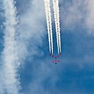 Red Arrows # 4 by Dale Rockell