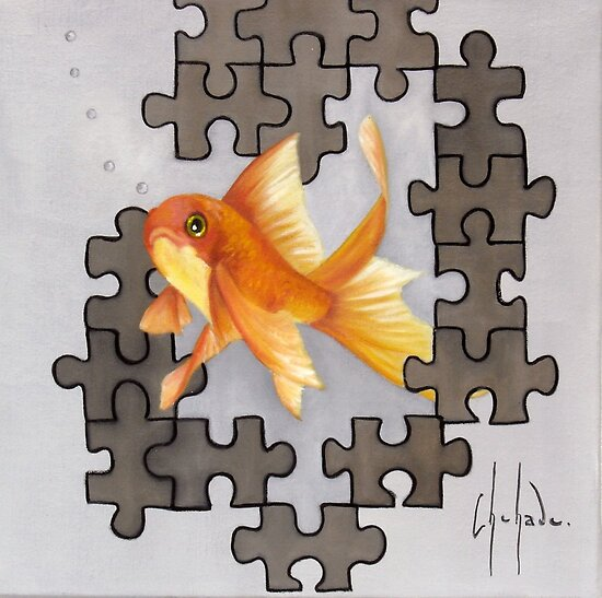 Petit puzzle d'avril by Chehade