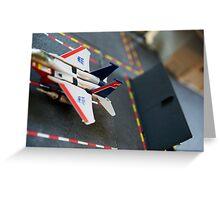 Starscream on the Flagg Greeting Card