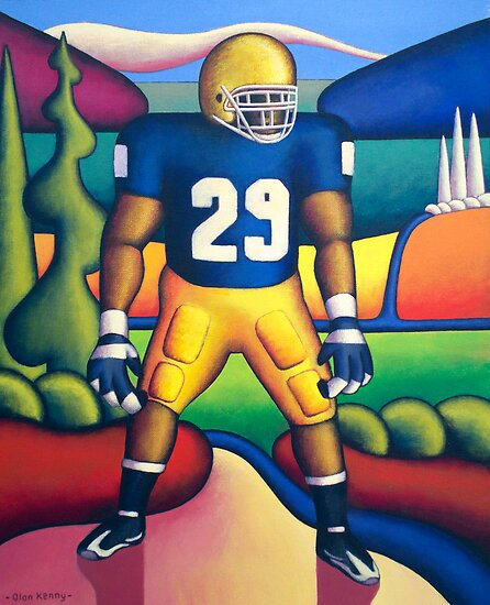 American Footballer    by Alan Kenny
