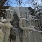 Frozen Waterfall by Sagenahb