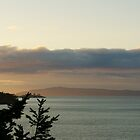 Summer Sunset, North Puget Sound, Washington by BH Neely