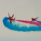 Red Arrows # 16 by Dale Rockell