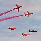 Red Arrows # 17 by Dale Rockell