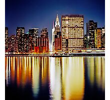 Romantic NYC Night Photographic Print