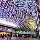 Kings Cross Station by Lilian Marshall