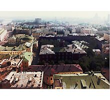 forbidden view over Moscow Photographic Print