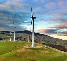 wind farm by XantheSara