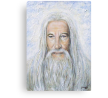 Our Father Who Art In Heaven Canvas Print