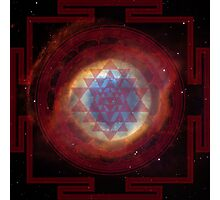 The Eye of God Yantra Photographic Print