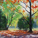 Mt Wilson Autumn, Blue Mountains by Graham Gercken