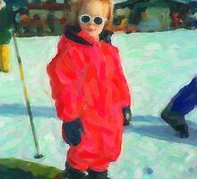 Next stop... winter Olympics... by Karen  Securius