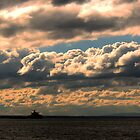 stony point cloudy skies 002 by Karl David Hill