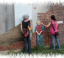 Brick Wall 3D by DreamCatcher/ Kyrah Barbette L Hale