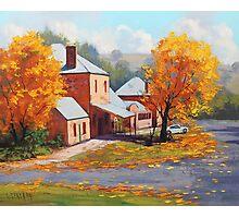 Autumn Historic Carcor Photographic Print