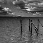 stony point cloudy skies 003 by Karl David Hill