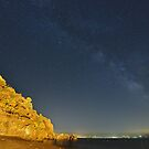 Milky way in a clear summer night by Andrea Rapisarda