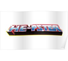 He-Pster Logo Poster