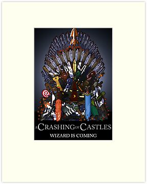 A Crashing Of Castles - Prints and Posters by BabyJesus