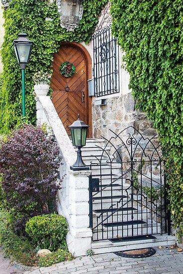 Special Doorway in Durnstein by Robert Kelch, M.D.